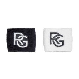 Tennis Wristbands Roland Garros Performance Small Wristbands  White/Navy RGHS0821MAR