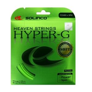 Corda Monofilamento Solinco Hyper Soft G 1.30 Set 12 m  Green 1920198