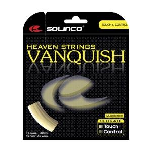 Multifilament String Solinco Vanquish 1.30 Set 12 m  Natural 1920013