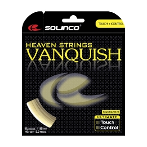 Multifilament String Solinco Vanquish 1.35 Set 12 m  Natural 1920043