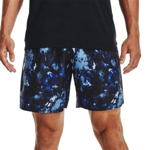 Pantalones Cortos Tenis Hombre Under Armour Adapt 8in Shorts  Tech Blue/Mod Gray 13614360432