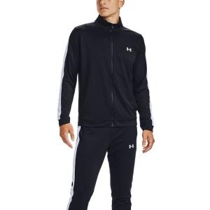 Men's Tennis Suit Under Armour Knit Bodysuit  Black/White 13571390001