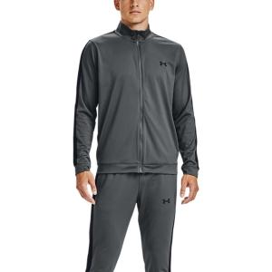 Men's Tennis Suit Under Armour Knit Bodysuit  Pitch Gray/Black 13571390012
