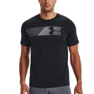 Camisetas de Tenis Hombre Under Armour Fast 2.0 Camiseta  Black/Pitch Gray/White 13295840001