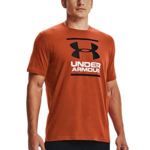 Camisetas de Tenis Hombre Under Armour Foundation Camiseta  Radiant Red/Black 13268490839