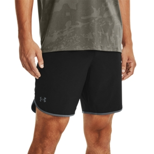Men's Tennis Shorts Under Armour HIIT Woven 8in Shorts  Black/Pitch Gray 13614350001