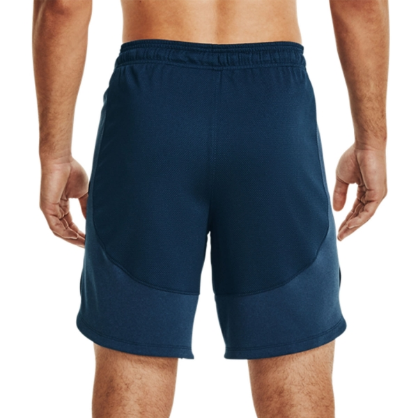 Under Armour Knit Training 9in Shorts - Academy/Mod Gray