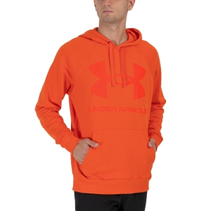 Men's Tennis Shirts and Hoodies Under Armour Rival Big Logo Hoodie  Phoenix Fire 13570930296