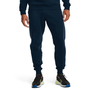 Pantalones y Tights Tenis Hombre Under Armour Rival Pantalones  Academy/Onyx White 13571280408