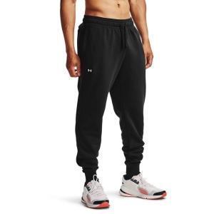 Pantalones y Tights Tenis Hombre Under Armour Rival Pantalones  Black/Onyx White 13571280001