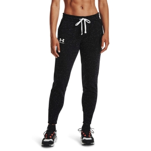 Women's Tennis Pants and Tights Under Armour Rival Joggers Pants  Black/White/Grey 13564160002