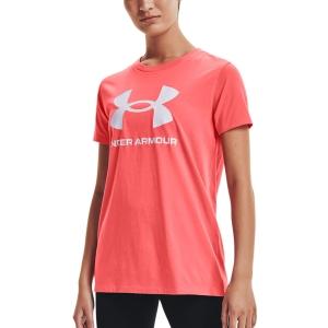 Camisetas y Polos de Tenis Mujer Under Armour Sportstyle Graphic Camiseta  Miami/White 13563050852