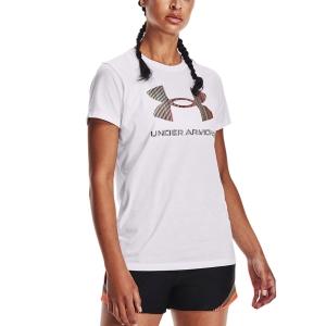 Camisetas y Polos de Tenis Mujer Under Armour Sportstyle Graphic Camiseta  White/Red 13563050105