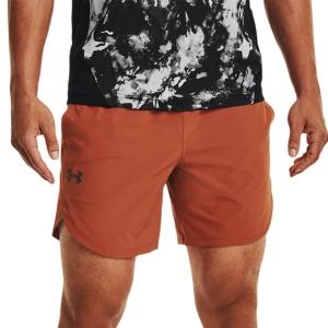 Pantalones Cortos Tenis Hombre Under Armour Stretch 7in Shorts  Radiant Red/Metallic Solder 13516670839