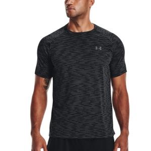 Camisetas de Tenis Hombre Under Armour Tech 2.0 Gradient Camiseta  Black/Pitch Gray 13661400001