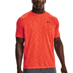 Men's Tennis Shirts Under Armour Tech 2.0 Gradient TShirt  Phoenix Fire/Black 13661400296