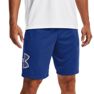 Men's Tennis Shorts Under Armour Tech Graphic 10in Shorts  Tech Blue/White 13064430432