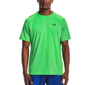 Men's Tennis Shirts Under Armour Tech 2.0 Novelty TShirt  Stadium Green/Black 13453170341