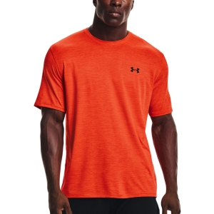 Men's Tennis Shirts Under Armour Training Vent 2.0 TShirt  Phoenix Fire/Black 13614260296