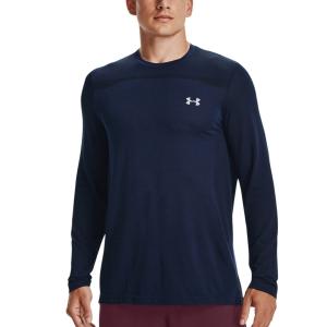Men's Tennis Shirts and Hoodies Under Armour Vanish Shirt  Academy/Mod Gray 13611360408