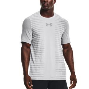 Men's Tennis Shirts Under Armour Vanish Wordmark TShirt  Halo Grey/Black 13661480014