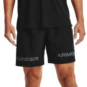 Pantalones Cortos Tenis Hombre Under Armour Woven Graphic 8in Shorts  Black/Pitch Gray 13614330001