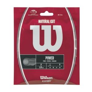 Natural Gut String Wilson Natural Gut 1.25et 12 m  Natural WRZ999900