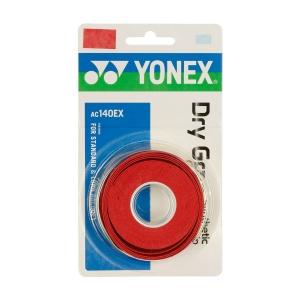 Overgrip Yonex Dry Grap x 3 Overgrip  Rosso Corallo AC140EXR