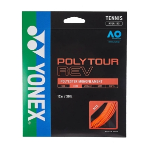 Monofilament String Yonex PolyTour Rev 1.25 Set 12 m  Orange PTGR125BO