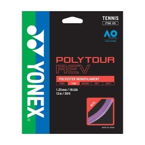 Monofilament String Yonex PolyTour Rev 1.25 Set 12 m  Purple PTGR125PR