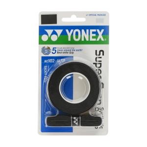 Sobregrip Yonex Super Grap Overgrip x 4 LTD  Black AC102EX4LTDN