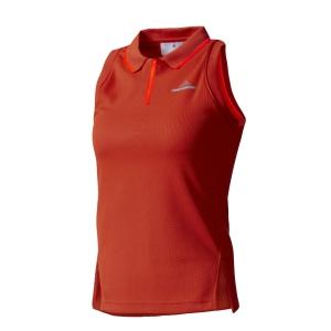Top and Shirts Girl Adidas Girl Stella McCartney Barricade 1/4 Zip Polo  Red/Fluo Orange BK7973