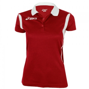 Ropa Asics Mujer Asics Samantha Polo  Red/White T254Z7.2601