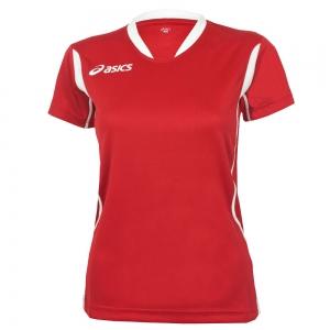 Women's Asics Woman Asics Sara Tshirt  Red/White T256Z7.2601