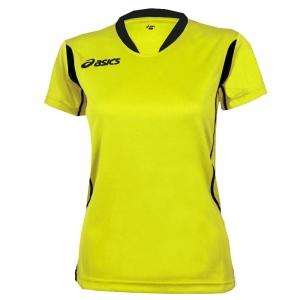 Women's Asics Woman Asics Sara Tshirt  Volt/Black T256Z7.8290