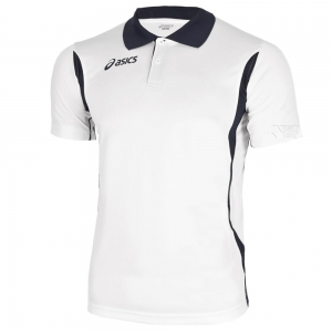 Ropa Asics Hombre Asics Smash Polo  White/Black T257Z7.0190