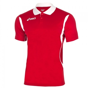 Ropa Asics Hombre Asics Smash Polo  Red/White T257Z7.2601