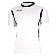 Tennis Polo and Shirts Asics Junior Goran TShirt  White/Black T264Z7.0190