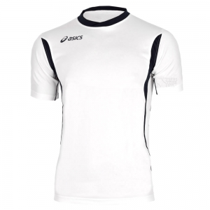 Asics Apparel Boy Asics Junior Goran TShirt  White/Black T264Z7.0190