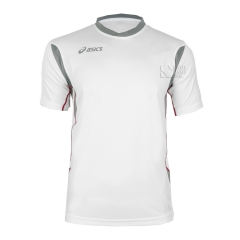 Tennis Polo and Shirts Asics Junior Goran TShirt  White/Grey T264Z7.0194