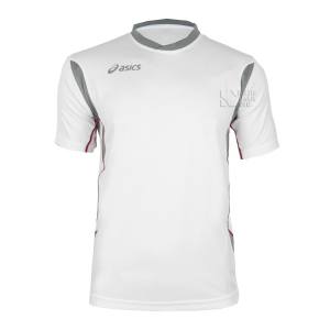 Asics Apparel Boy Asics Junior Goran TShirt  White/Grey T264Z7.0194