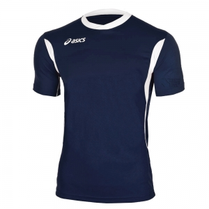 Asics Apparel Boy Asics Junior Goran TShirt  Navy/White T264Z7.5001