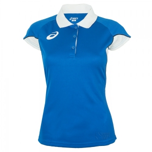 Ropa Asics Mujer Asics Ace Polo  Royal/White T266Z7.4301