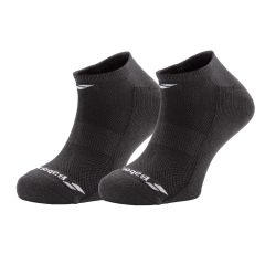 Tennis Socks Babolat Invisible x 2 Socks  Black 5MS17361105