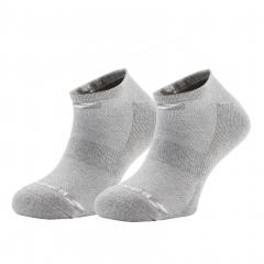 Tennis Socks Babolat Invisible x 2 Socks  Grey 5MS17361249