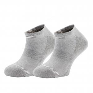Calcetines de Tenis Babolat Invisible x 2 Socks  Grey 5MS17361249