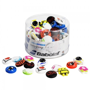 Vibration Dampener Babolat Loony x 75 Box Dampeners  Multicolor 700035134