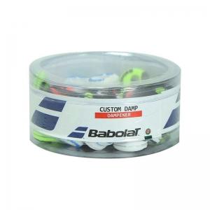 Vibration Dampener Babolat Custom x 48 Dampeners Box  Multicolor 700041134