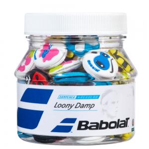 Vibration Dampener Babolat Loony x 48 Box Dampeners  Multicolor 700029134