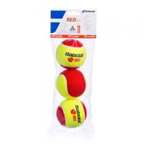 Babolat Tennis Balls Babolat Red Felt Pack x 3 501036